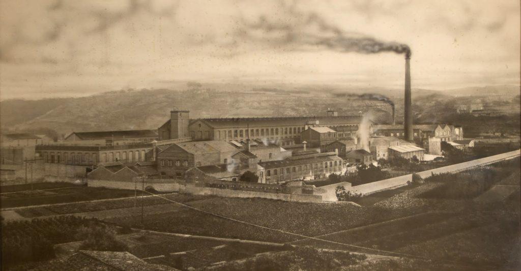 Gráfico 1. Fábrica de Can Batlló al pie de la montaña de Montjuïc